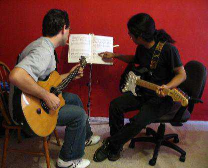 1on1 long-distance guitar lessons for adults and teens first lesson FREE