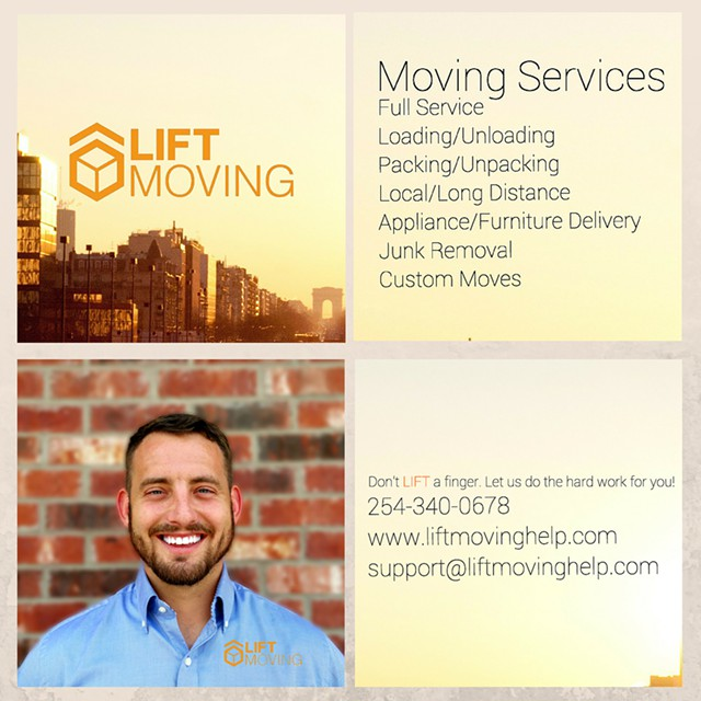 Lift Moving  LLC-Affordable Moving-Full Service and LoadingUnloading