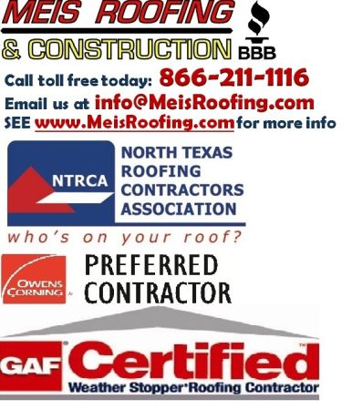 ROOF HAIL or WIND DAMAGE WE WORK WITH ALL INSURANCE CARRIERS ON YOUR (waco)