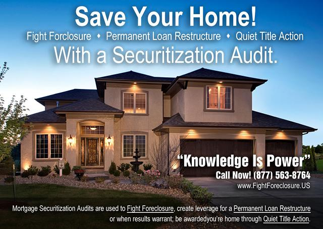 Fight Foreclosure, Foreclosure Fraud, Loan Modification