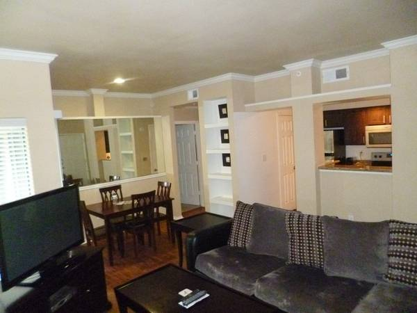 - $1965  1br - Beautifully Furnished, Granite Countertops, Stainless Appliances - kb (Uptown Area)