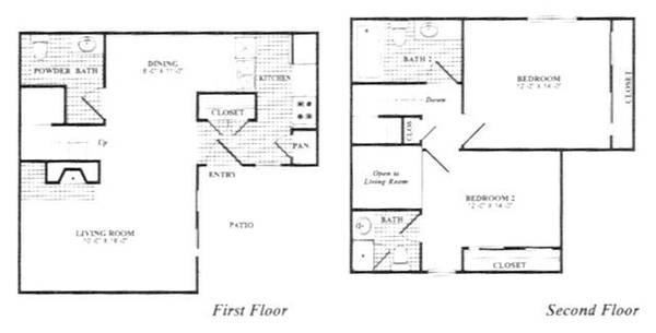 -  930   2br - 1159ft sup2  - The townhomes  amp  apartments   75206