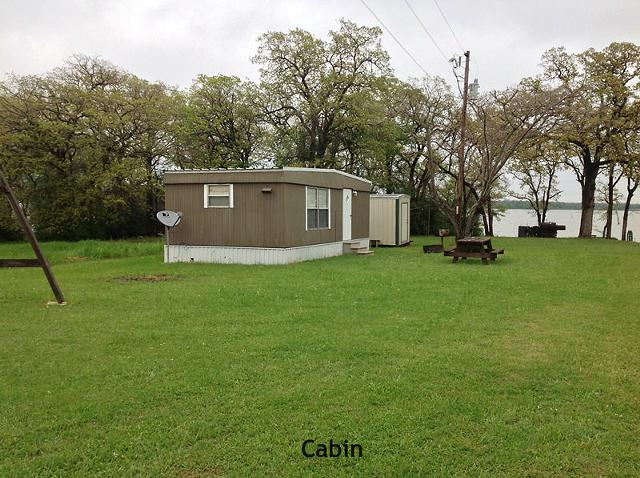 1br, Lake Limestone, TX - Waterfront lot has cabin Great view of the Lake