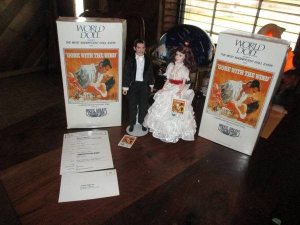 Gone With The Wind Set  World Dolls -   x0024 40  Penelope