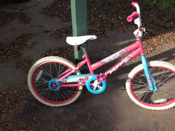 2 GIRLS HUFFY SEA STAR PINK BICYCLES - x002420 (CHINA SPRING)
