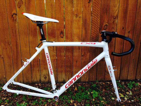 Cannondale CX9 Cyclocross frame set - $600 (waco)
