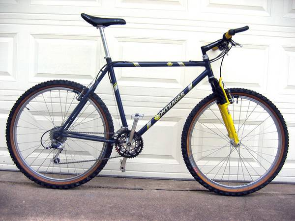 9755Lower price BONTRAGER PRIVATEER COMP mountain bike (ALL ORIGINAL) - - $575 (SW Austin)