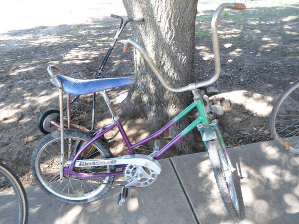 Texas Rangerette vintage girls bike - $70 (near Robinson)
