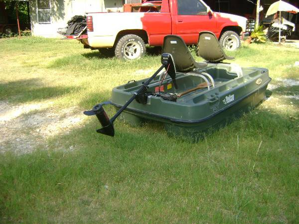 2 man bass boat - $450 (Killeen Tx)