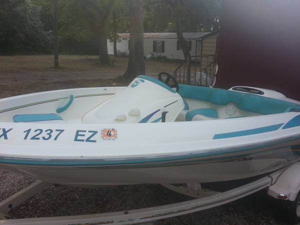 1995 Sea Rayder 14ft Jet Boat - $3500 (mexia)