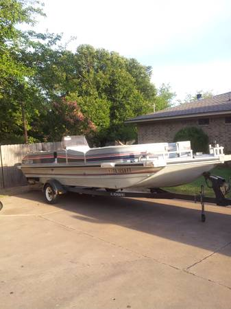1991 22Ft. Lowe Aluminum Flat Bottom Fishing or Party Boat - $2850 (Lorena)