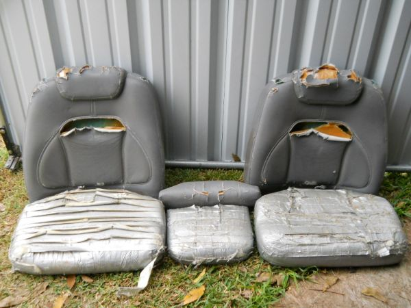 bass boat seats - $50 (waco)