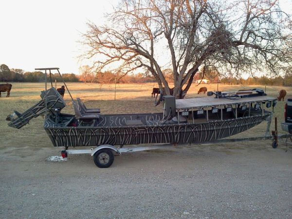 Bowfishing Boat - $5000 (Blooming Grove)