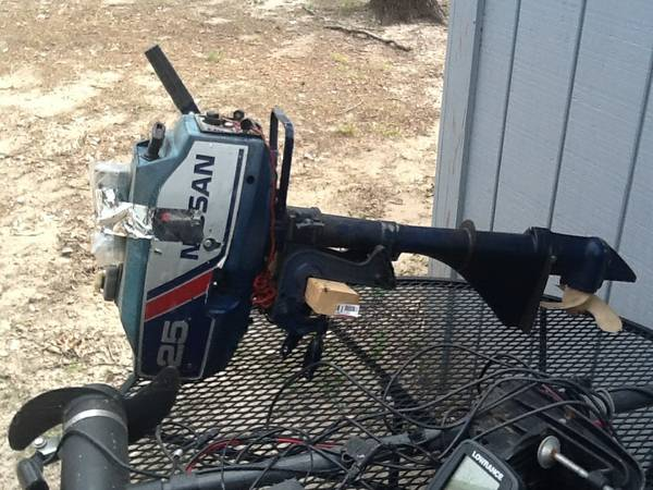 Completely Rebuilt Nissan 2.5HP Outboard - $500 (Corsicana)