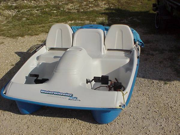 Paddle Boat Price Reduced - $400 (Lake Whitney Marina)