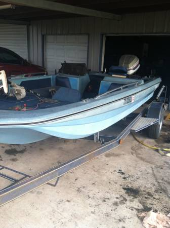 wtswtt 80 eliminator bass boat - $2500 (central tx)