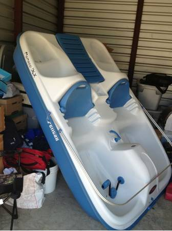 Pelican paddle boat NEW - $400 (Temple)