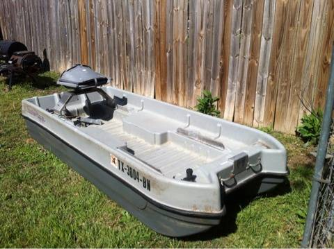 10ft 2 man bass boat - $400 (Waco, Tx)