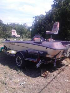 19ft Astro Bass Boat 1990 with trailer and title, no engine - $1000 (Bell County)