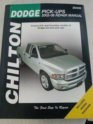 Dodge Repair Manual -   x0024 10