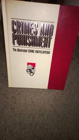 CRIMES AND PUNISHMENT ENCYCLOPEDIA SET - $350 (WACO, TEXAS)