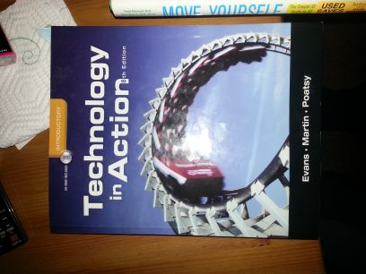 MCC COSC 1301 Textbook Technology in Acton - $50 (Waco)