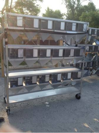 Stainless rod framed metabolism suspended rodent cage rat mouse rack laborato - $3200 (Kansas City )