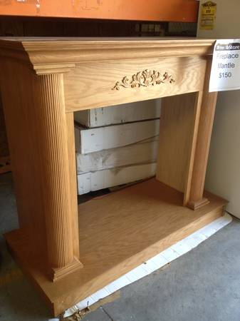 32 Odesa Cabinet Mantel Kit - $150 (Waco Habitat for Humanity ReStore)