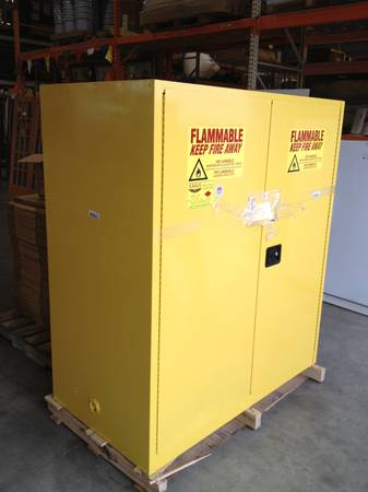 Flammable safety cabinet - $1500 (Waco Habitat for Humanity ReStore)