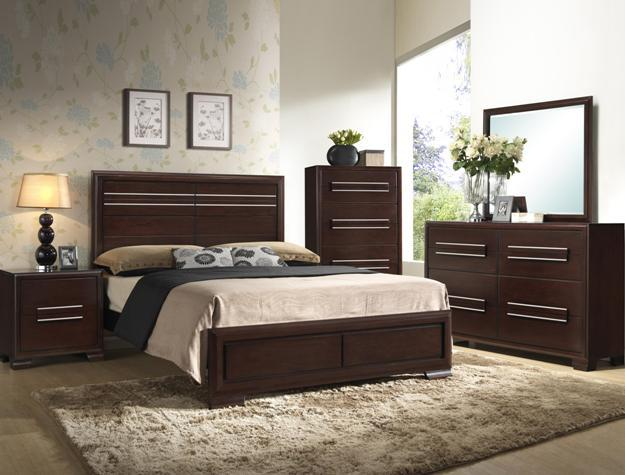 950  Solid wood queen bedroom set