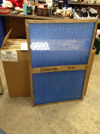 EZ Flow 24x36x1 air filters - $5 (Waco Habitat for Humanity ReStore)