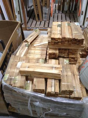 Cedar shims - $2 (Waco Habitat for Humanity ReStore)