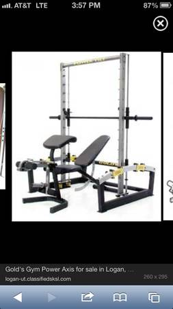 Golds Gym Power Axis - $175 (Robinson)