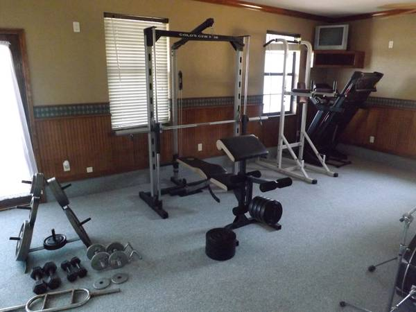 Golds Gym XR38 Weight Set - $350 (West)