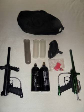 Paintball guns and accessories - $180 (WacoMexia)