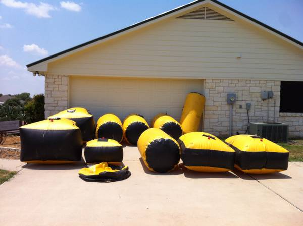 3 man field- paintball course - $750 (Waco)