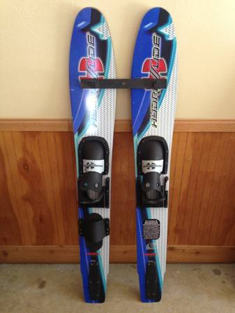HYDROSLIDE CHILD WATER SKIS - $40 (China Spring)