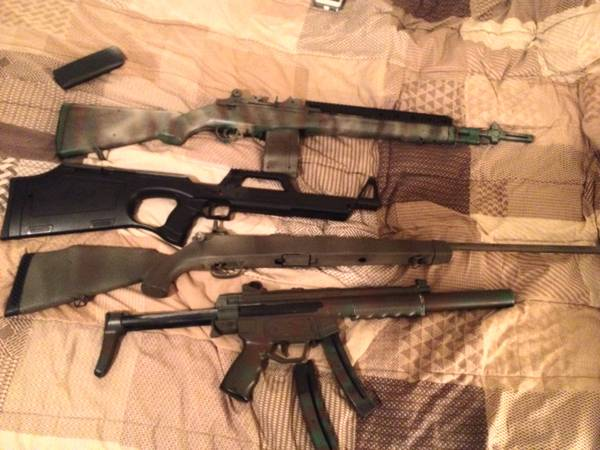 gtgtLEGIT AIRSOFT RIFLES AND ACCESSORIESltlt SNIPER,M14,WALTHER G22,MP5 - $150 (Waco tx)