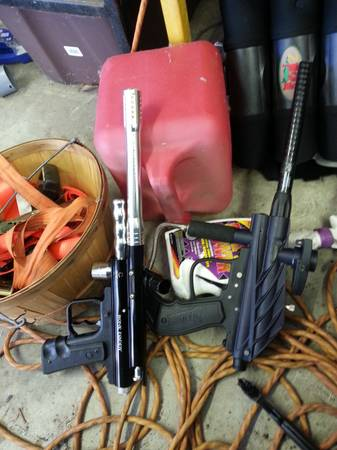 3 semi auto working paintball guns - $50 (waco)
