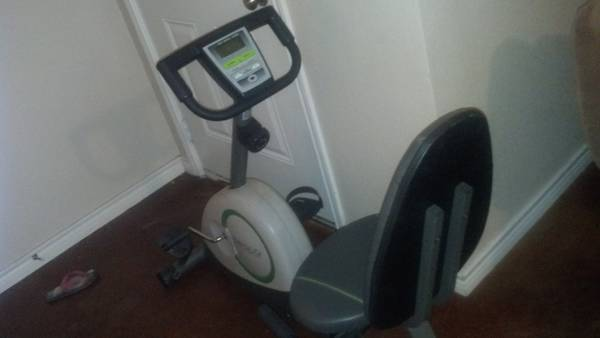 Weslo pursuit 360R exercise bike
