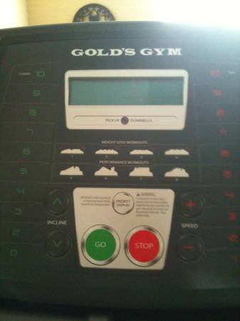 Golds Gym Trainer 410 - $250 (Lorena, Tx)