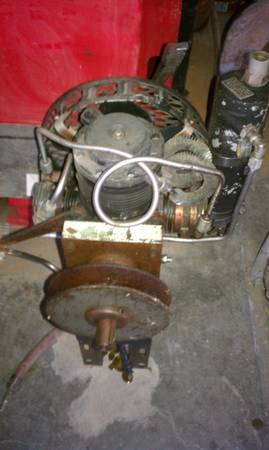 Scuba or paintball high pressure compressor - $150 (robinson)