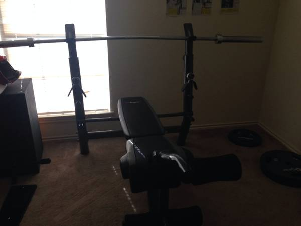 Weight bench - $250 (Robinson)