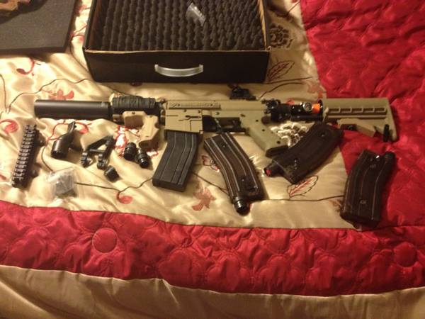 Milsig paintball gun - $800 (Brandon Tx. )