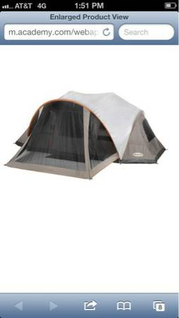 Magellan 8person tent - $60 (Waco)