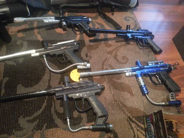 paintball guns several to choose lots of extras (Waco)
