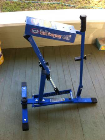 Blue Flame pitching machine - $150 (Clifton)