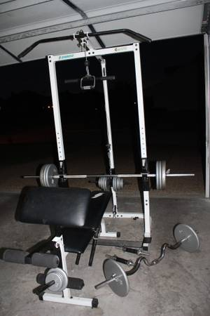 Total Gym workout bench - $200 (Hewitt)