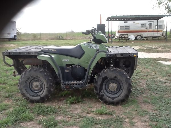 2005 Polaris MV7 4 wheeler for sale. Perfect for Hunting Season - $4000 (Crawford, Tx)