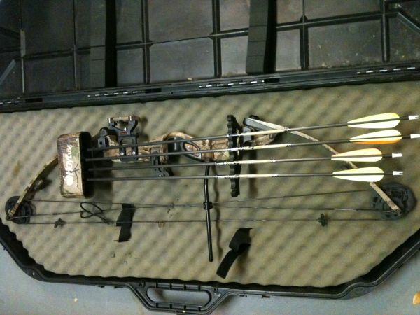 Hoyt Raptor Intruder Compound Bow - $300 (Waco, Tx)